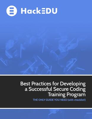 Secure Coding Training Guide