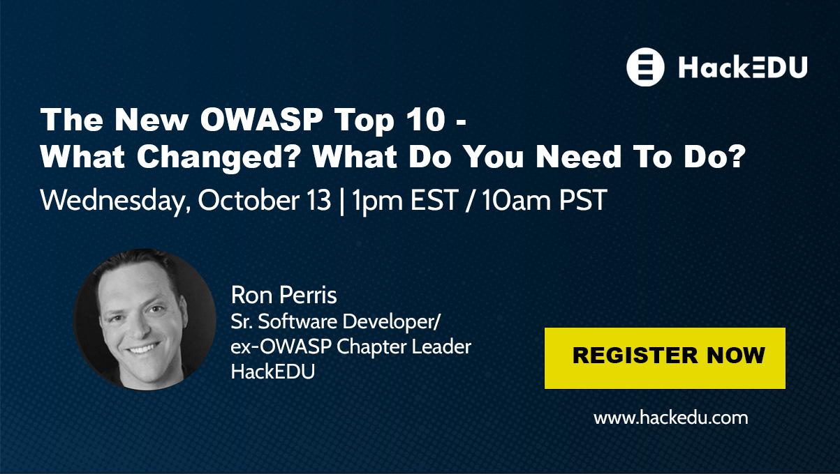 OWASP SecureWorld Webinar Ad